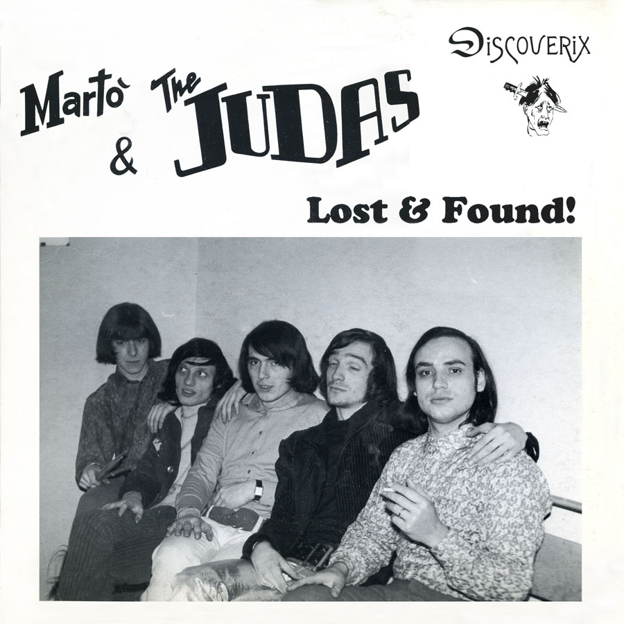 marto and the judas lp lost and found front