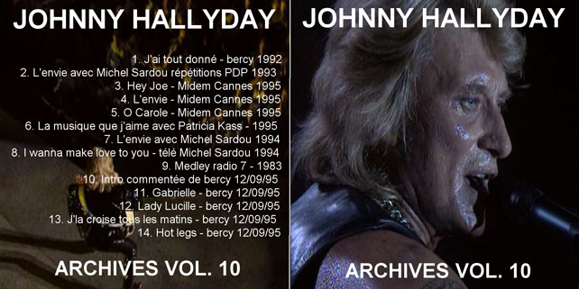 bootlegs johnny hallyday