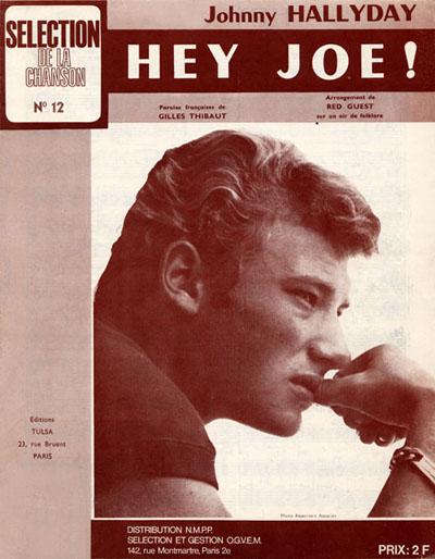 Johnny Hallyday - Hey Joe / La Petite Fille De L'Hiver