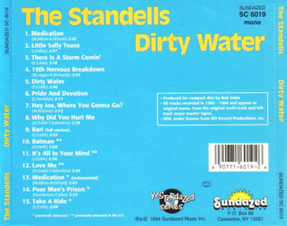 The Standells Recorded Live At P.J.s San Francisco 1964